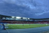 CALI - COLOMBIA, 14-04-2019: Vista del estadio Pascual Guerrero previo al partido entre América de Cali y Deportivo Cali por la fecha 15 de la Liga Águila II 2018 jugado en el estadio Pascual Guerrero de la ciudad de Cali. / View of the Pascual Guerrero stadium prior the match for the date 15 as part of Aguila League I 2019 between America Cali and Deportivo Cali played at Pascual Guerrero stadium in Cali. Photo: VizzorImage / Gabriel Aponte / Staff