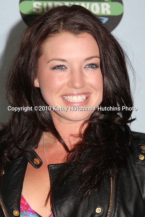 """Parvati Shallow.arrivng at the """"Survivor"""" 10 Year Anniverary Party .CBS Television CIty.Los Angeles, CA.January 9, 2010.©2010 Kathy Hutchins / Hutchins Photo...."""