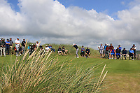 Ronan Mullarney (Galway) on the 3rd tee during the Final of the AIG Irish Amateur Close Championship 2019 in Ballybunion Golf Club, Ballybunion, Co. Kerry on Wednesday 7th August 2019.<br /> <br /> Picture:  Thos Caffrey / www.golffile.ie<br /> <br /> All photos usage must carry mandatory copyright credit (© Golffile | Thos Caffrey)