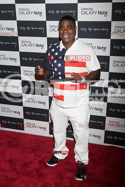 Tracy Morgan attends the Samsung Galaxy Note 10.1 Launch Event in New York City, August 15, 2012. © Diego Corredor/MediaPunch Inc. /NortePhoto.com<br />
