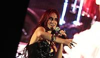 Dulce Maria durante su presentacion en el concierto Exa 2013 en Leon Guanajuato.<br /> (*Foto:TiradorTercero/NortePhoto*)