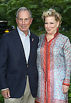 Mayor Michael Bloomberg, Bette Midler attends the 12th Annual Spring Picnic Celebrating the Bette Midler New York Restoration Project's 18th Anniversary at Gracie Mansion in New York City on May 30th, 2013