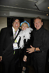 Dale Badway sings and hosts New Year's Eve 2016 and Times Square Ball Drop and poses with performers Missy Keene and Ken Lundie at The Copacabana, New York City, New York. (Photo by Sue Coflin/Max Photos)  suemax13@optonline.net