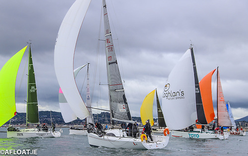 ISORA and DBSC racing got underway this month on Dublin Bay Photo: Afloat