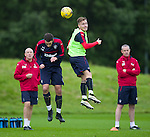110816 Rangers training