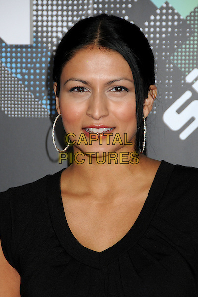 TINSEL KOREY.The T-Mobile Sidekick 4G Launch Party held at a private lot in Beverly Hills, California, USA..April 20th 2011.headshot portrait hoop earrings black   .CAP/ADM/BP.©Byron Purvis/AdMedia/Capital Pictures.