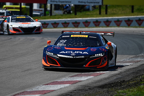 Pirelli World Challenge<br /> Victoria Day SpeedFest Weekend<br /> Canadian Tire Motorsport Park, Mosport, ON CAN Saturday 20 May 2017<br /> Peter Kox/ Mark Wilkins, Ryan Eversley/ Tom Dyer<br /> World Copyright: Richard Dole/LAT Images<br /> ref: Digital Image RD_CTMP_PWC17079