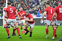 Jonathan Davies of Wales during the NatWest Six Nations match between France and Wales on February 1, 2019 in Paris, France. (Photo by Dave Winter/Icon Sport)