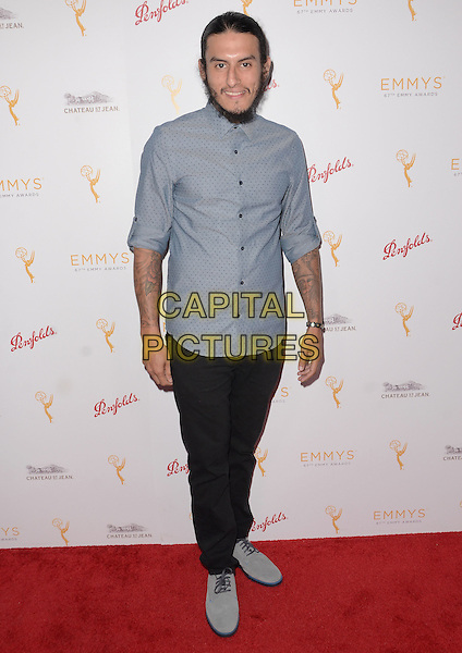 09 September  2015 - Beverly Hills, California - Richard Cabral. Arrivals for the Television Academy's 67th Emmy Award Nominees for Outstanding Casting held at TheMontage Beverly Hills.   <br /> CAP/ADM/BT<br /> &copy;Birdie Thompson/AdMedia/Capital Pictures