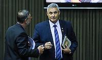 SAO PAULO, SP, 05 DE FEVEREIRO 2013 - ABERTURA ANO LEGISLATIVO - Vereador Coronel Telhada durante sessão de Abertura do Ano Legislativo da Câmara Municipal de São Paulo (SP), nesta terça-feira (5). FOTO: VANESSA CARVALHO - BRAZIL PHOTO PRESS