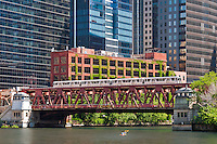 Chicago River &amp; The Loop<br />