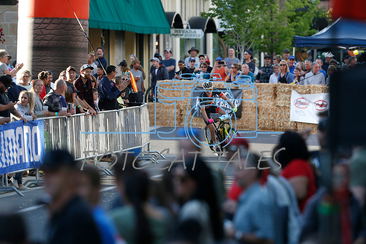 Riders compete in the Pro Fat Tire Crits during the 4th annual Carson City Off-Road, in Carson City, Nev., on Friday, June 28, 2019.<br /> Photo by Cathleen Allison/Nevada Momentum