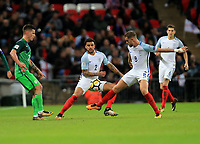 England Kyle Walker and England Jordan Henderson during the FIFA World Cup 2018 Qualifying Group F match between England and Slovenia at Wembley Stadium on October 5th 2017 in London, England. <br /> Calcio Inghilterra - Slovenia Qualificazioni Mondiali <br /> Foto Phcimages/Panoramic/insidefoto