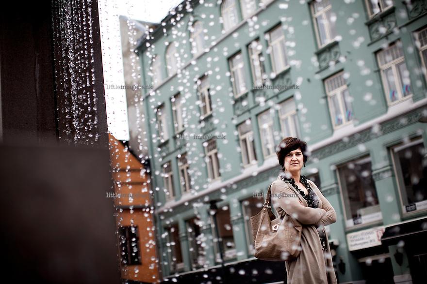 Oslo, Norge, 06.07.2011. Gro Møllerstad i Hodejegerne. Foto: Christopher Olssøn.