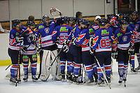 IJSHOCKEY: HEERENVEEN: IJsstadion Thialf, 22-12-2012, Eredivisie, Friesland Flyers - HYS Den Haag, ©foto Martin de Jong