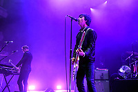 LONDON, ENGLAND - AUGUST 8: Johnny Marr performing at Nile Rodgers' Meltdown at Royal Festival Hall on August 8, 2019 in London, England.<br /> CAP/MAR<br /> ©MAR/Capital Pictures