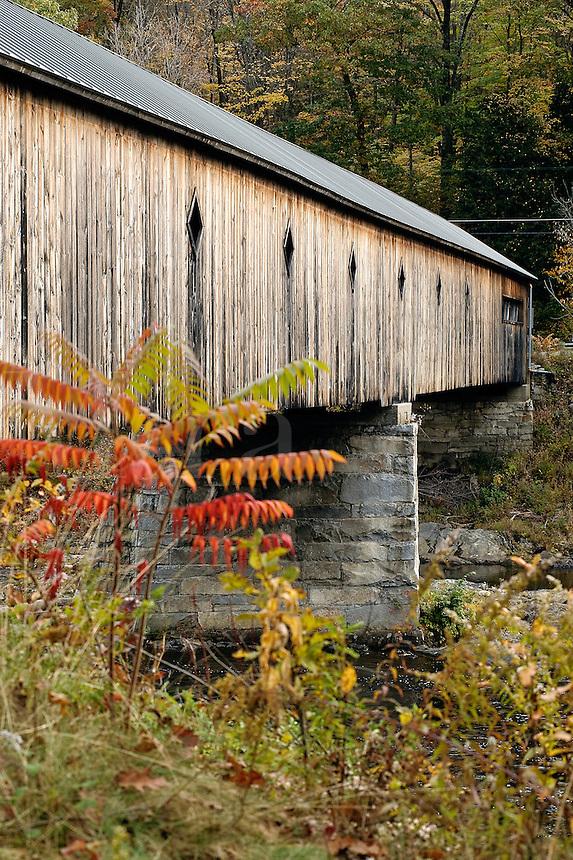 Covered bridge, Dummerston, Vermont