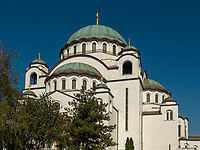 orthodoxer Dom des heiligen Sava, Sv. Save, Belgrad, Serbien, Europa<br /> Orthodox Cathedral of St. Sava, Belgrade, Serbia, Europe