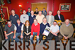 ....CALANDER: Banna Sea Rescue crew who held their get together at McElligotts bar, Ardfert and to launch their 2012 calander, Front l-r: Mike McCarthy (jnr), Thomas Fitzgerald, Colleen Trant, Pat Ryle, Steve Baker (chairman), Francis lawlor and Mike Mccarthy. 2nd row  l-r: Johnny Riordan, Niel Fordenham, James McLoughlin, Maurice McElligott, Donal Dowling and Tom Ward. Back l-r: Tom Fitzgerald(jnr) Brendan Mcdaid and Marti Woulfe...............................