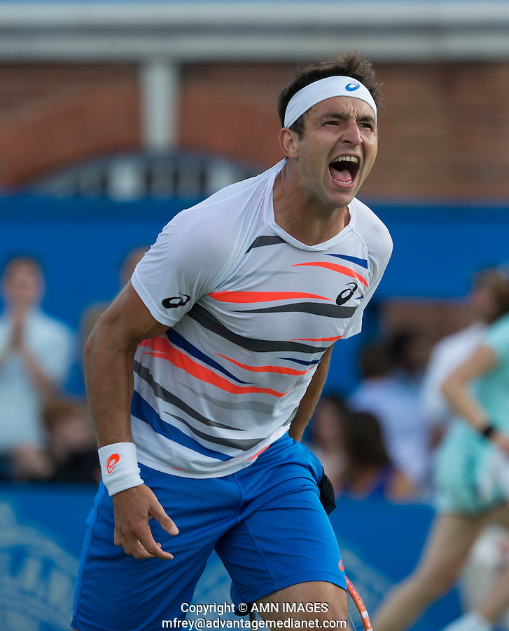 MARINKO MATOSEVIC (AUS)<br /> <br /> Aegon Championships 2014 - Queens Club -  London - UK -  ATP - ITF - 2014  - Great Britain -  12th June 2014. <br /> <br /> &copy; AMN IMAGES