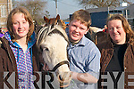 FAMILY DAY: Valerie, Timmy and Marie Sugrue, Ardfert enjoying a family day at the horse fair in Killorglin on Saturday.   Copyright Kerry's Eye 2008