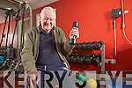 Ger Relihan who turned 90 last Thursday, pictured here in his local gym in Ballybunnion.