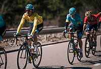overall leader Luis Leon Sanchez (ESP/Astana)<br /> <br /> 76th Paris-Nice 2018<br /> stage 6: Sisteron &gt; Vence (198km)