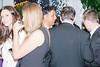 People talk at the MSNBC After Party at the United States Institute of Peace in Washington, DC. The party followed the annual White House Correspondents Association Dinner on Saturday, April 30, 2016. The party continued until about 3 AM on Sunday, May 1, 2016.