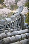 Roof detail of Himeji Castle