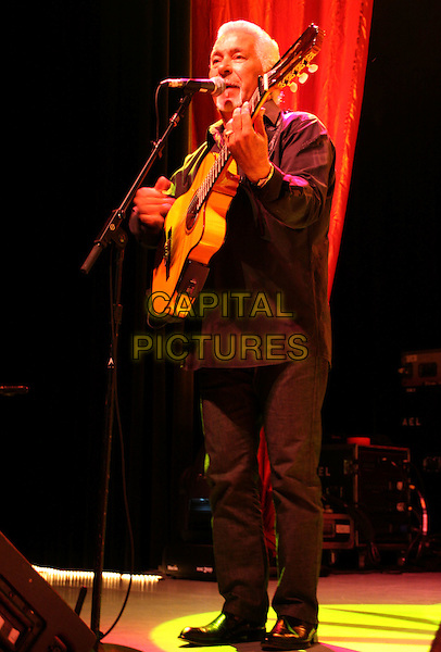 GIPSY KINGS - Paul Reyes.The Gipsy Kings Live in Concert at The Greek Theater, Los Angeles, California, 15 August 2008..concert Spanish music guitar band group live on stage performing  full length.CAP/ADM/FS.©Faye Sadou/Admedia/Capital Pictures.**Exclusive**