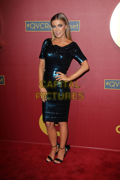 BEVERLY HILLS, CA - February 28: Carmen Electra at QVC 5th Annual Red Carpet Style Event, Four Seasons, Beverly Hills,  February 28, 2014.  <br /> CAP/MPI/JO<br /> &copy;Janice Ogata/MediaPunch/Capital Pictures