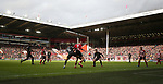 Sun shining on John Street stand and the Kop as play takes place during the Premier League match at Bramall Lane, Sheffield. Picture date: 7th March 2020. Picture credit should read: Alistair Langham/Sportimage