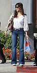 3-31-09.Exclusive.Jessica Alba leaving Rite Aid store then went into Cedar Sinai Uroligist building in Los Angeles ca WEARING A PURPLE BOE TIE BELT ..AbilityFilms@yahoo.com.805-427-3519.www.AbilityFilms.com