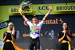 Daryl Impey (RSA) Mitchelton-Scott wins Stage 9 of the 2019 Tour de France running 170.5km from Saint-Etienne to Brioude, France. 14th July 2019.<br /> Picture: ASO/Pauline Ballet | Cyclefile<br /> All photos usage must carry mandatory copyright credit (© Cyclefile | ASO/Pauline Ballet)