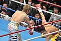 Yota Sato (JPN), Suriyan Sor Rungvisai (THA),.MARCH 27, 2012 - Boxing : WBC super flyweight title bout at Korakuen Hall in Tokyo, Japan..(Photo by Hiroaki Yamaguchi/AFLO).3.