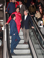 They are a total of 18 stations for the 18 teams that will compete in the final of the tennis tournament. The Davis Cup finals will be held for the first time in Madrid, between November 18 and 24 at the Caja Magica.<br /> Ignacio Aguado, Feliciano lopez and Angel Garrido