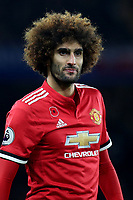 Marouane Fellaini of Manchester United during Chelsea vs Manchester United, Premier League Football at Stamford Bridge on 5th November 2017