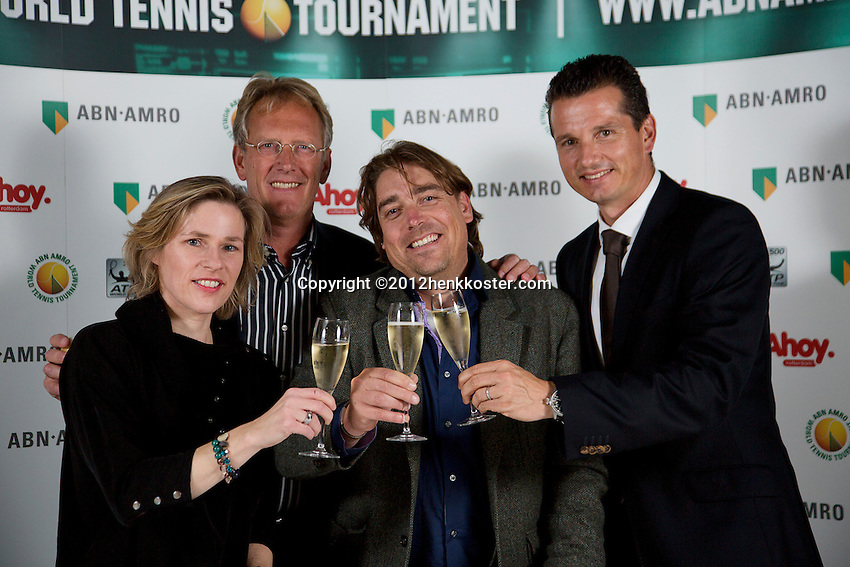02-10-12, Netherlands,Rotterdam, Ahoy, Tennis meets Business.