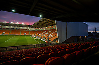 A general view of Bloomfield Road, home of Blackpool<br /> <br /> Photographer Alex Dodd/CameraSport<br /> <br /> The EFL Sky Bet League One - Blackpool v Tranmere Rovers - Tuesday 10th March 2020 - Bloomfield Road - Blackpool<br /> <br /> World Copyright © 2020 CameraSport. All rights reserved. 43 Linden Ave. Countesthorpe. Leicester. England. LE8 5PG - Tel: +44 (0) 116 277 4147 - admin@camerasport.com - www.camerasport.com
