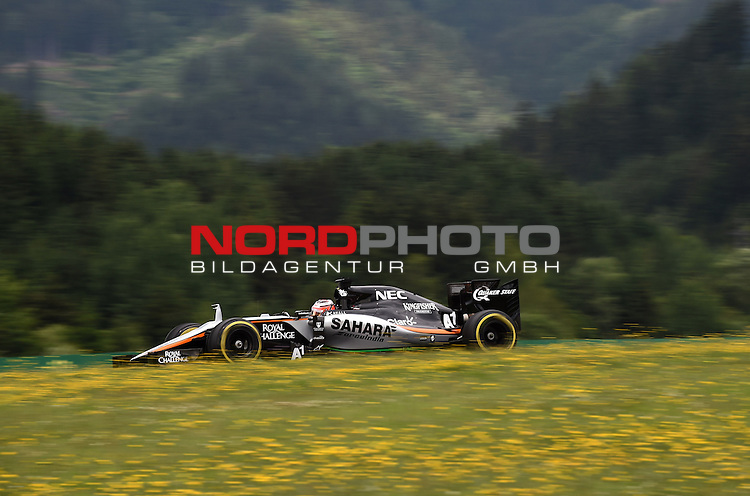 18.-21.06.2015, Red Bull Ring, Spielberg, AUT, RED BULL RING, SPIELBERG, EROEFFNUNG, im Bild   Nico Huelkenberg (GER), Force India Formula One Team<br />  Foto &copy; nph / Mathis