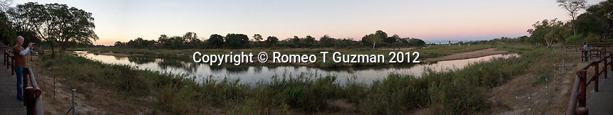 July 19, 2012: Zukuza Rest Camp Site in Kruger National Park in South Africa