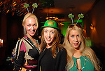 Glorria S., Rachel Rosson and Leslie Tyler-Fink at the St. Patrick's Day party at the Hotel ZaZa Monday March 17,2008.(Dave Rossman/For the Chronicle)