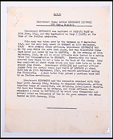 BNPS.co.uk (01202 558833)Pic: C&amp;TAuctions/BNPS<br /> <br /> A letter explaining Lieutenant James Riccomini MBE's capture in 1941.<br /> <br /> The remarkable story of an SAS hero who escaped captivity by jumping out of a moving train and carried out daring raids behind enemy lines before he was killed storming a German stronghold can be told after his bravery medals emerged for sale.<br /> <br /> After escaping his German captors, Lieutenant James Riccomini MBE spent four months assisting Italian resistance fighters with ammunition drops and intelligence gathering before scaling the Alps to reach neutral Switzerland when his cover was blown.<br /> <br /> Ten months later, he was dropped behind enemy lines and led a fearless ambush of a German armoured column before he was killed in action heading up an assault during the legendary Operation Tombola.<br /> <br /> His MBE, Military Cross and other medals along with letters he wrote to his wife, documents and photos are tipped to sell for &pound;12,000.
