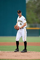 Pittsburgh Pirates pitcher Travis MacGregor (41) gets ready to deliver a pitch during an Instructional League game against the Tampa Bay Rays on October 3, 2017 at Pirate City in Bradenton, Florida.  (Mike Janes/Four Seam Images)
