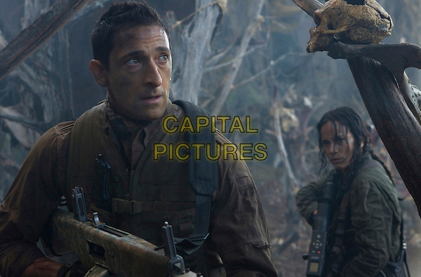ADRIEN BRODY & ALICE BRAGA.in Predators (2010).adrian.*Filmstill - Editorial Use Only*.CAP/FB.Supplied by Capital Pictures.