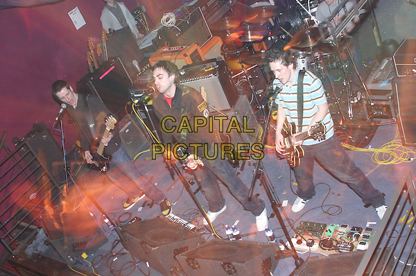 HARD FI.Live in concert, The Rescue Rooms, Nottingham, .April 7th 2005..full length guitar gig band music.Ref: JEZ.www.capitalpictures.com.sales@capitalpictures.com.©Jez Self/Capital Pictures