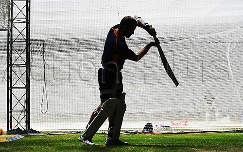 20th March 2018, Eden Park, Auckland, New Zealand;  NZ Captain Kane Williamson.<br /> New Zealand Blackcaps twilight training session ahead of the 1st day/night test match against England