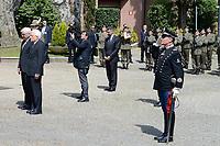 Roma, 3 Maggio 2017<br /> Il Presidente Sergio Mattarella e Il Presidente della Germania Frank-Walter Steinmeier rendono omaggio alle vittime del massacro nazista alle Fosse Ardeatine