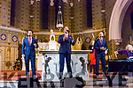 the Three Tenors Dominick McGorian, Shane Morgan and Derek Moloney performing in St Stephen and John church Castleisland on Tuesday night