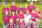 The Cromane team at the Mid Kerry football blitz in Milltown on Saturday front row l-r: Padraic McMahon, Jamie O'Shea, Shane Ahern. Middle row: Dylan Falvey, Sean Arthurs, Cathal Crosbie, Patrick Moroney, Shane O'Neill. Back row: Ethan Griffin, Jamie Naughton, Jack O'Shea, Tiernan O'Sullivan, Rory Smith and Bruce Dourieu..